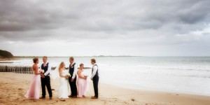 Naomi and Dean's beachside wedding at Wyndham Resort Torquay