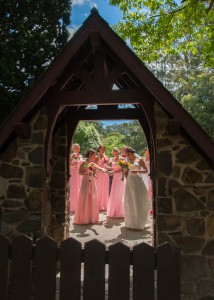 Elise and Chris, St. Michael's in Kalorama, Yarra Valley Lodge