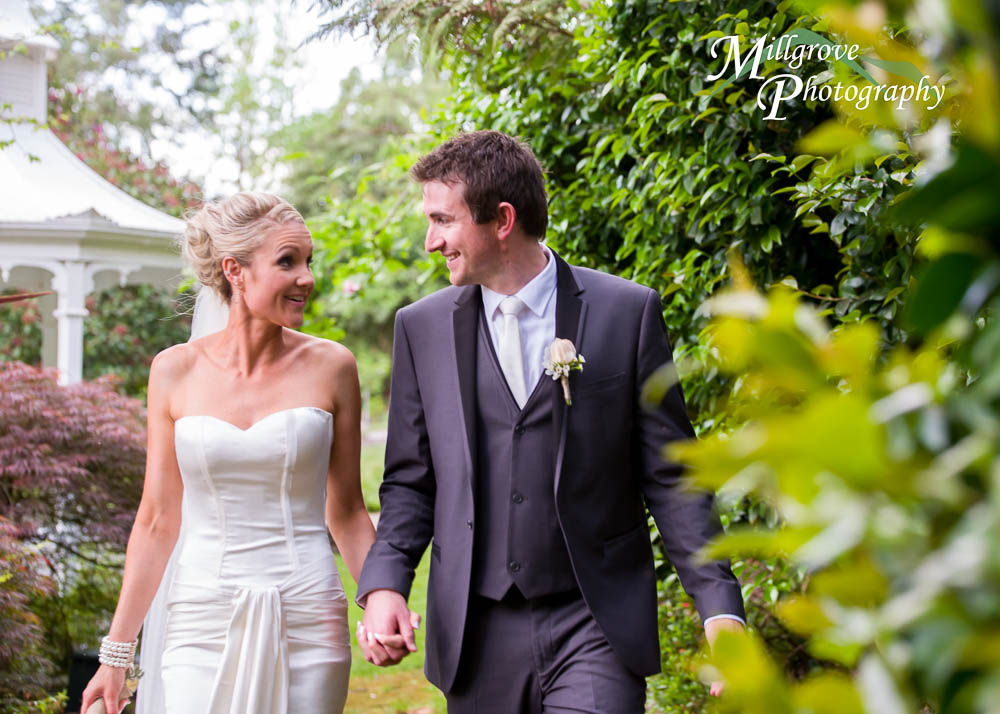 Bridal photography at Nathania Springs, by Millgrove Photography, Melbourne