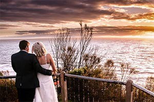Amy and Luke's backyard wedding and Mornington Peninsula beach shoot