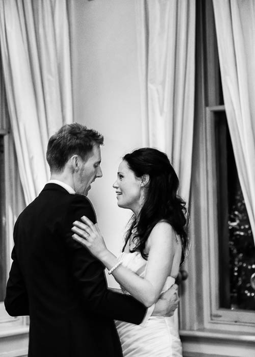 41 First dance between bride and groom at Butleigh Wootton