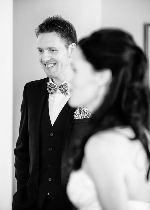 5 Bride and groom pre-wedding, black and white
