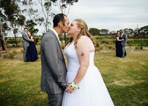 Bonnie and Aron's Geelong wedding celebration