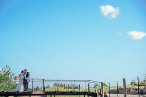 Ash and Brady's country Yarra Valley wedding