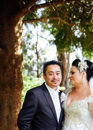 Olivia and Jason's Yarra Valley wedding in beautiful Don Valley