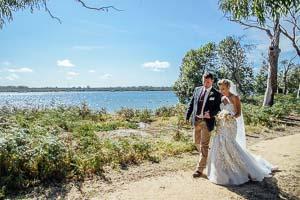 Beach wedding – Mel and Luke