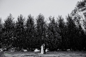 Sue and Michael's country garden wedding at Kilmore