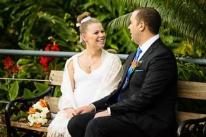 Mel and Dave's gorgeous garden wedding at the beautiful Alexandra Gardens, Kew