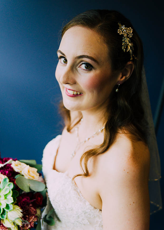 Portraits of a bride pre-wedding at Marybrook Manor, Dandenongs