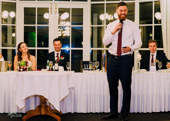 Speeches at Marybrooke Manor