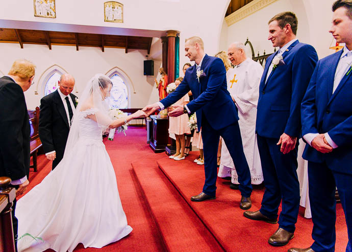 Wedding at St Patrick's Church Lilydale