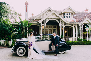 Khya and Kevin's classic church-hall wedding and reception at the beautiful Gables Malvern