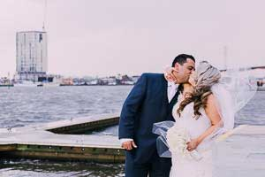 Christina and Marc's awesome wedding at All Smiles Melbourne Waterfront