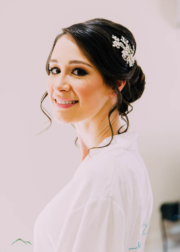 Portrait of Bride Leanne