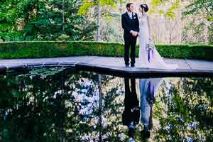 Leanne and Ben's stunning garden wedding at Marybrooke Manor