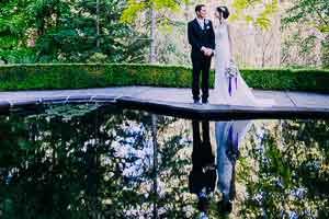 Leanne and Ben's stunning garden wedding at Marybrooke Manor