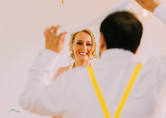 Bride and groom dancing at a Melbourne wedding