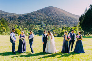 Sam and Steve's brilliant Yarra Valley wedding at the Warburton Golf Club