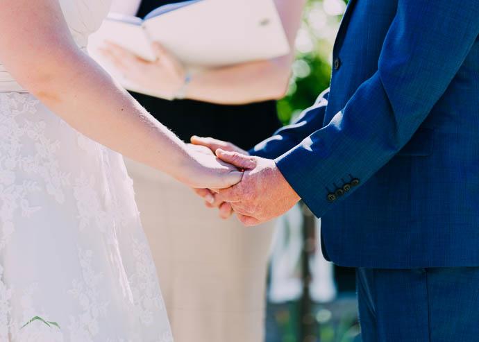 Wedding Ceremony at Warburton Golf Club