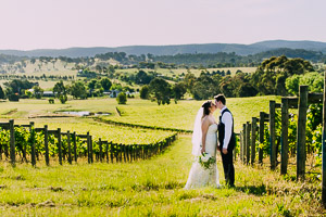 Jess and Michael's beautiful Immerse Winery Wedding