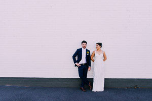 Jess and Zac's very Melbourne wedding at Fitzroy Gardens and Mountain Goat Brewery