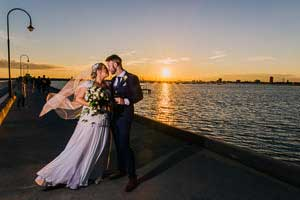Erin and Dan's beautiful church wedding at Our Lady of Mount Carmel