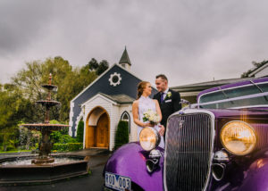 Laura and Steve's Ballara Receptions Chapel Wedding
