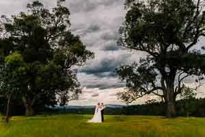 Carly and Kyle's Gum Gully Farm Wedding