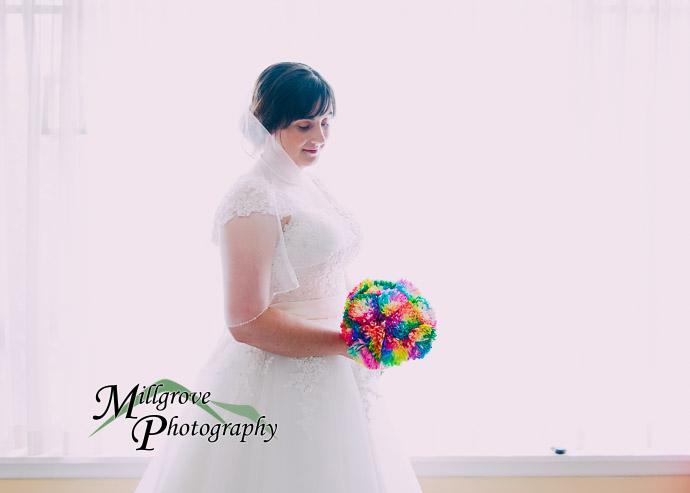 Portrait of bride pre-wedding