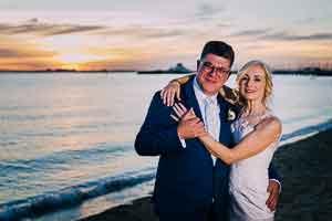 Robyn and Mario's Pioneer Women's Memorial Garden Wedding