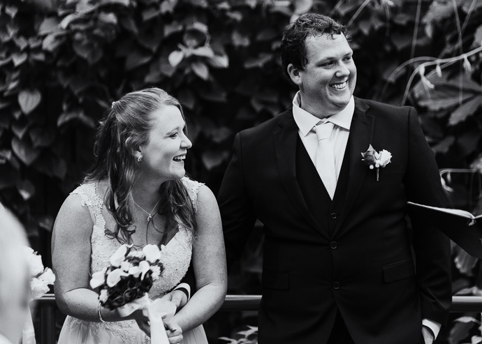 A Melbourne Zoo wedding in the butterfly house