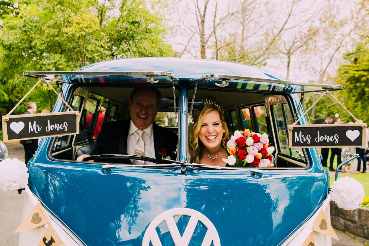 Sally and Graham's beautiful wedding at Bram Leigh