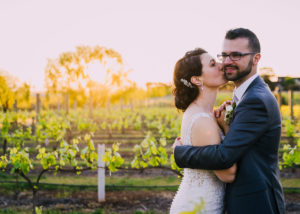 Tina and Nik's stunning sun-drenched celebration at Witchmount Winery