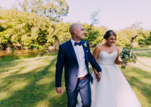 Kaitlin and Adam's sunny Spring wedding at the Eastern Golf Club