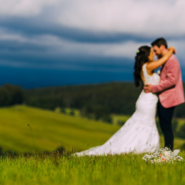 Forest Edge Gembrook wedding and Puffing Billy Station
