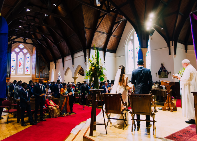 A Toorak Uniting Church Wedding ceremony
