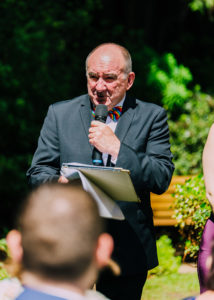 Celenrant Bronte Price at a same-sex wedding in Melbourne