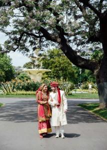 Carlton Gardens wedding shoot, Melbourne