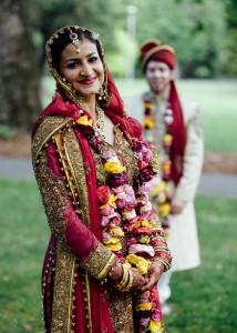 Beautiful bride in traditional clothing