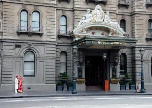 7-bride-groom-Married couple outside the Windsor Hotel, Melbourne-windsor-hotel-melbourne