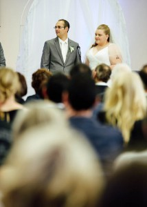 Bride and groom, Geelong wedding