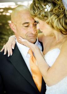Bride and groom, Fitzroy Gardens