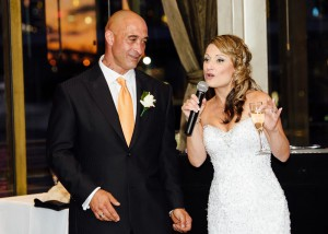 Bride and groom speeches