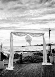 Bridal arch, Williamstown