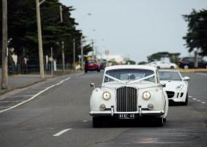 Bentley bridal car