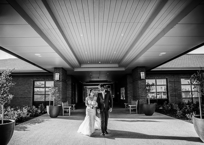 Bridal wedding photography at Eastern Golf Club