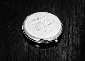 Silver gift to a bridesmaid