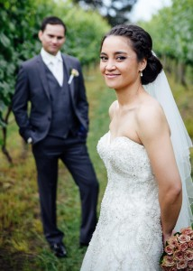 Yarra Valley vineyard wedding