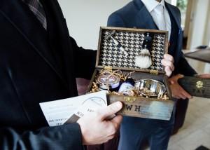 Gift to the groomsmen, shaving kit