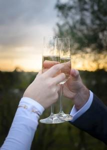 Bride and groom, wedding at Jones Road Winery, Mornington Peninsula 2